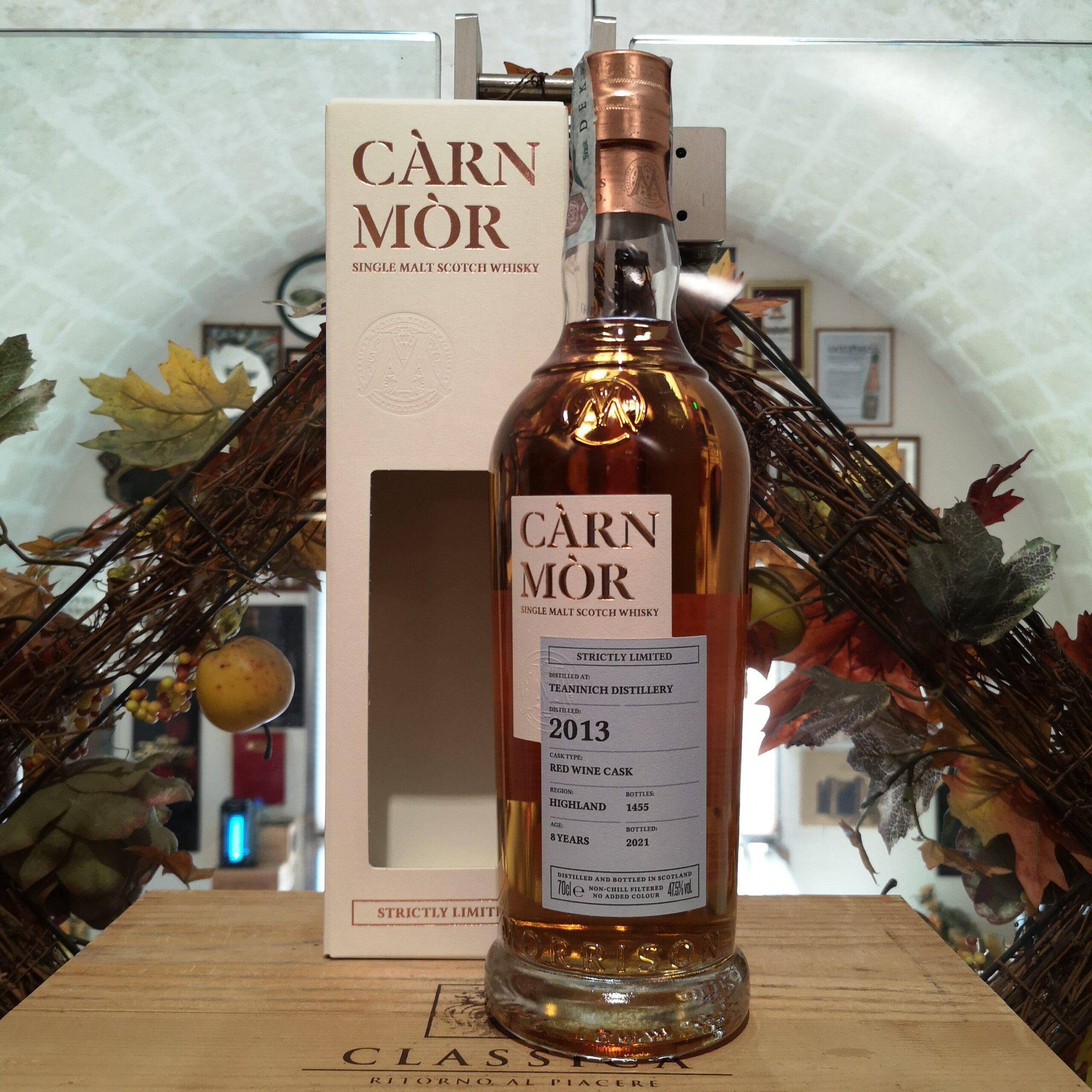 Càrn Mòr Strictly Limited Teaninich Single Malt Scotch Whisky 2013 8 YO